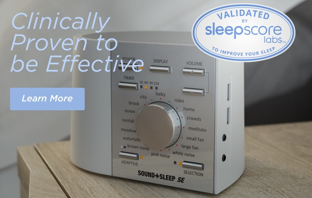 Sleep score banner Tablet